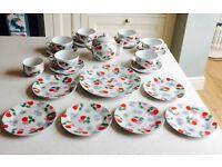 Stunning Cath Kidston 'Cherry' Tea Set - perfect Wedding Gift - Collectors items