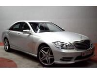 MERCEDES-BENZ S CLASS S350 3.0 CDi BlueTEC AMG Sport Pack 4dr FULL HISTO (silver) 2012
