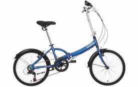 Apollo Tuck Folding Bike - Cobalt Blue