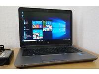Superfast HP Probook 640 G1,Intel Core i5-4210M,8GB RAM,Win 10 Pro 64 Bit laptop