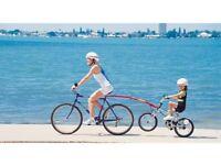 2 x Trail Gator bike adult to child tow bar