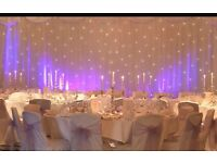 Fairylight backdrop for hire