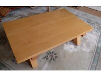 QUICK SALE - Lovely Pine Finish Coffee Table - WE CAN DELIVER