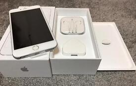 iphone 6S plus 16 GB silver unlocked any network! Still has 12 months Appl warranty!