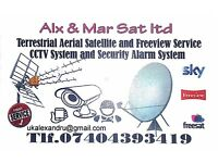INDEPENDENT AERIAL & SATELLITE ENGINEER TRAINED BY SKY TO INSTALL SATELLITE SYSTEMS.