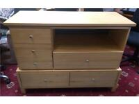 Large six drawer chest of drawers DELIVERY AVAILABLE