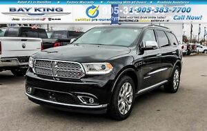 2016 Dodge Durango CITADEL, AWD, NAVI, DVD, 2ND ROW CAPTAIN CHAI