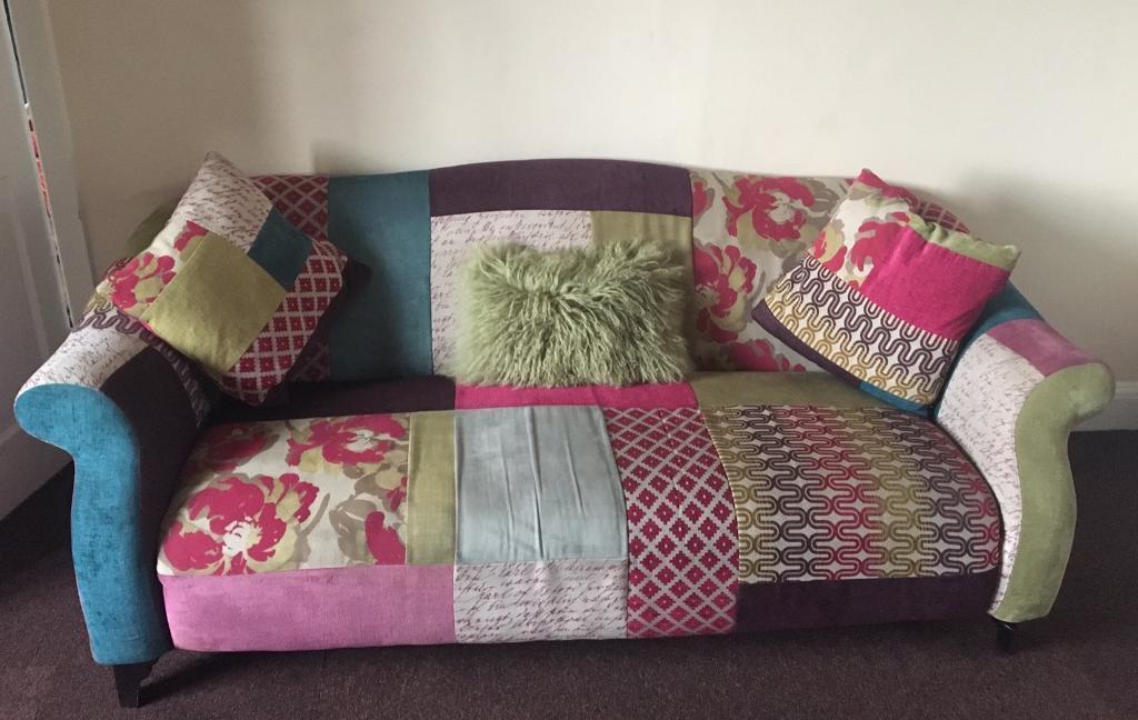 Dfs Patchwork Sofa In Retford Nottinghamshire Gumtree