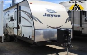 2015 Jayco WHITEHAWK 33BHBS Travel Trailer w/Double Bunks