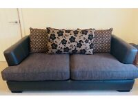 2x 3 seater sofa +2x futons