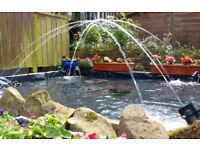 Jumping water fountain kit