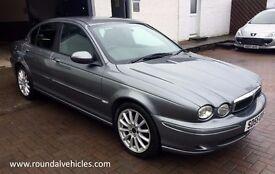 2005 55 Jaguar X Type DIESEL 2.0 SE Sport 108 EXTENSIVE HISTORY, met grey, half lthr, LOVELY CAR !!