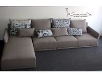 Fabric Corner Cushion back Sofa/Unit Suite **UK Supplier**NXT DAY DELIVERY