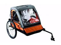 Double bicycle trailer
