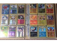 450 + Pokemon cards. V good condition.