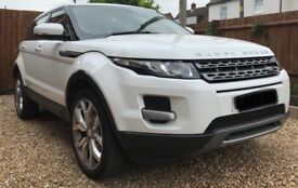 Range Rover Evoque 2012 62 Plate White 5 Door