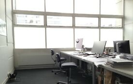 Desk space in shared studio, Holborn, WC1N