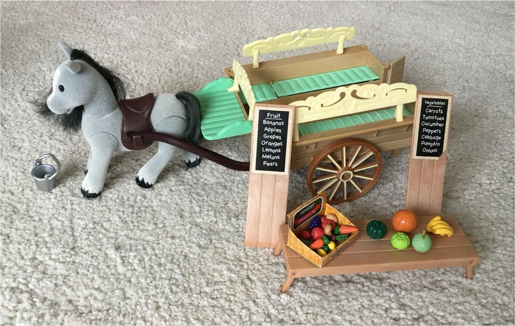 Sylvanian Families Horse And Cart