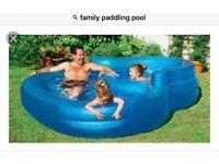 Family paddling pool. Brand new in box