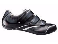 (2113) SHIMANO SH-R078 GIRLS WOMENS ROAD BIKING SHOES Size: UK 4 EUR 38