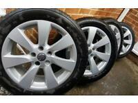 """18"""" vauxhall astra j and k vauxhall zafira 2012 to 2020 alloys"""