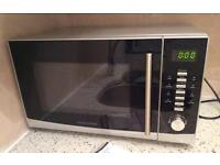 morphy richards microwave oven silver stainless steel 900w was £120 bought but too big for my use