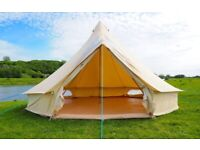 5M Bell Tent Excellent Condition