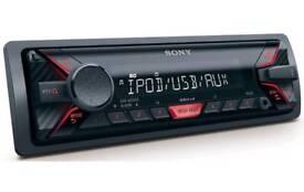 Sony mp3/aux/iPod/USB car stereo