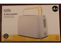 George home 2-slice bread toaster