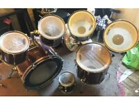 Pearl Export 7 piece shell set (from 1980s)