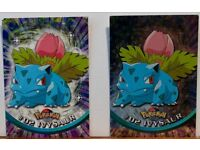 102 TOPPS TV ANIMATION EDITION POKEMON CARDS, 01 to 112,