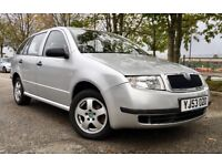 *** BARGAIN *** 2003 SKODA FABIA 1.2L ESTATE, MANUAL, 12 MONTH MOT, SERVICE HISTORY, CHEAP CAR TO GO