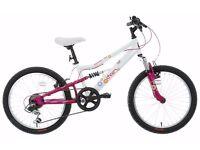 """***NEW*** Apollo Charm Girls' Mountain Bike - 20"""" RRP £174.99"""