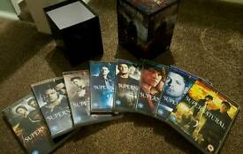 Supernatural DVD boxset Seasons 1-8 in excellent condition