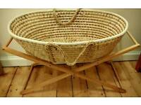 Mother Care Moses basket and stand
