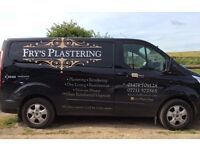 friendly experienced plasterer offering high quality.