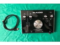 M-Audio 2x2m USB Audio Interface / Great Condition
