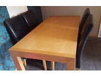 Solid wood table.. need quick sale