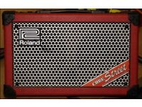 Roland Cube Street Gig Guitar Amp Red
