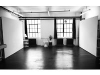 Photography Studio Share in Dalston