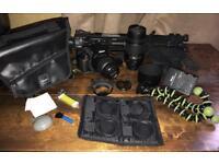 Nikon D3100 Camera + Nikkor 18-55mm + Nikkor 55-300mm