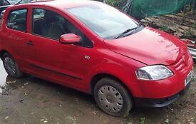 Volkswagen urban fox 55, low mileage manual petrol 3 doors, 2010 for SALE