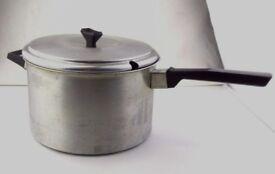 Beautiful old Aluminium vintage pan