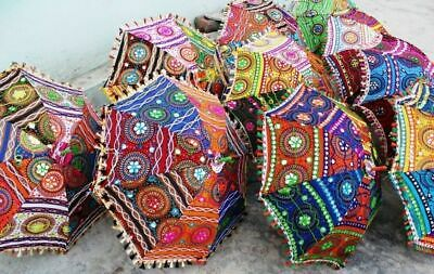 Indio Handmade Paraguas Parasol Decorativo Boda Mehandi Fiesta