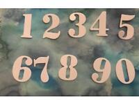 Brand new 0-9 number metal die cutters