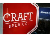 Full and Part Time Bar Staff needed at The Craft Beer Co. Brixton