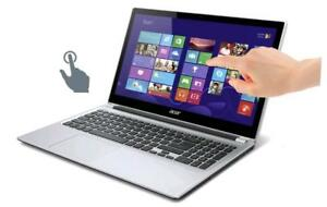 ACER ASPIRE V3-572pg 15.6'' TouchScreen Intel i5-5200u turbo 3.5ghz, 8GB 750GB ,NVIDIA GeForce 840M , McOffice Pro 2016