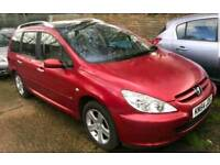 7 Seater - 2005 Peugeot 307 SW 1.6 HDI SE DIESEL- £450 Read Ad