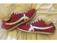 Retro Red Trainers (Size 10)