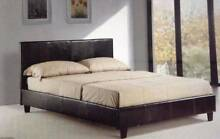 clearance:leather bed for sell Double$169 , Queen$179 only Hurstville Hurstville Area Preview